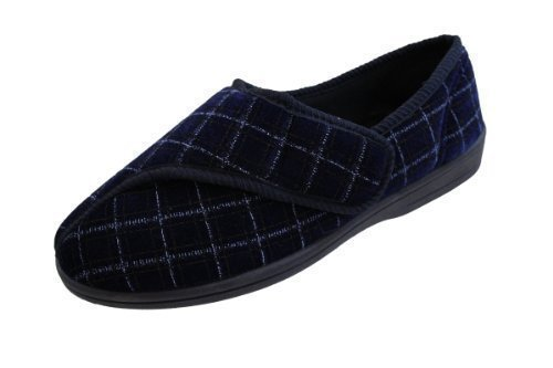 mens-touch-fastening-washable-burgundy-or-navy-slippers-navy-uk-size-8
