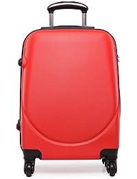 "Kono carcasa pequeña cabina tamaño maleta 4 ruedas Spinner Bolsa de viaje equipaje de ABS Lightweigt 20 """