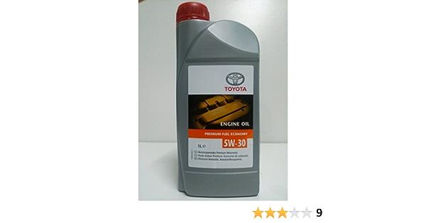 Synthetic Engine Oil Toyota Pfe 5w30 1 Litre Api Sn Acea C2 Auto