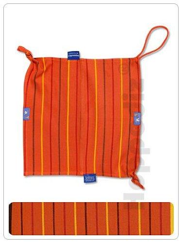 Preisvergleich Produktbild Hoppediz St-san Schnuffel- und Spucktuch, orange