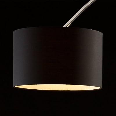 SalesFever Bogenlampe schwarz groß Alumi von SalesFever bei Lampenhans.de