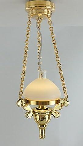 Puppenhaus Miniatur-beleuchtung LED Batteriebetriebenes Licht Hängende Viktorianisch