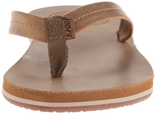 Reef Chill Leather, Tongs Femme Marron - Marrón (Tobacco)