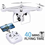 JJRC 40MINS Longer Flight Time Drone H68 RC Quadcopter with Removeable 720P Camera
