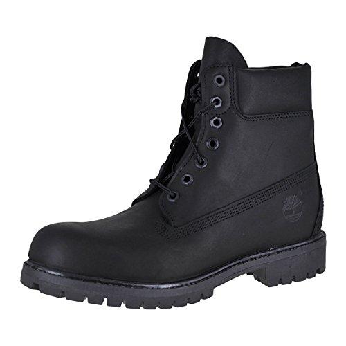 Timberland 6-Zoll-Premium-Stiefel für Herren, 45 EU, Black Full-Grain 6-zoll-premium-boot