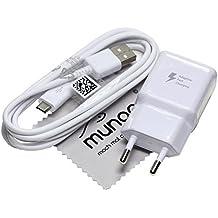 Original Flash rápido Samsung Cargador 2 A USB + 1,5 m Cable de carga