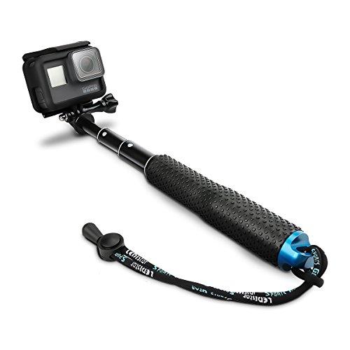 """AFAITH Selfie Stick für GoPro Hero 2018 Hero 6 Hero 5, 19\"""" Einstellbare Verlängerung Einbeinstativ Pole Selfie-Stangen für GoPro Hero 7 Black 5 4 3 + 3 2 SJ4000 SJ5000 SJ6000 Xiaomi Yi RS002"""