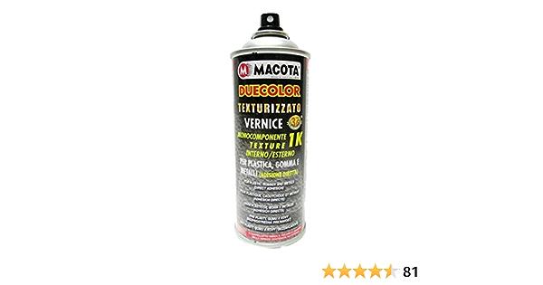 Macota Duecolor Lackspray Für Kunststoff Und Gummi Strukturiert Schwarz Auto