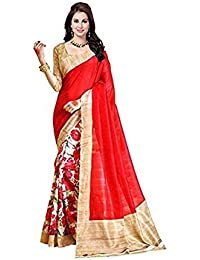 Shushila Saree Red Beautifull Colour Art Silk Sree