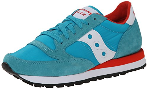 Saucony Jazz Original, Scarpe  Low-Top Donna AQU/RED