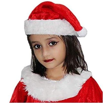 c4dad034b77f7 Kaku Fancy Dresses Santa Girl Costume for Kids Christmas Day/School ...