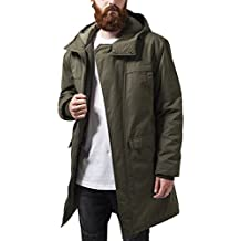 Urban Classics Cotton Peached Canvas Parka, Chaqueta Para Hombre