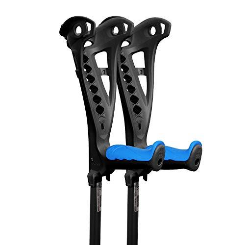 FDI Access Comfort Grip Verstellbare Premium Offene Ellbogenmanschette 1 Paar schwarz