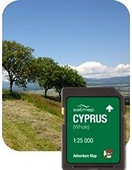 Satmap MapKarte: Cyprus Gesamt (ADV 1:25k)