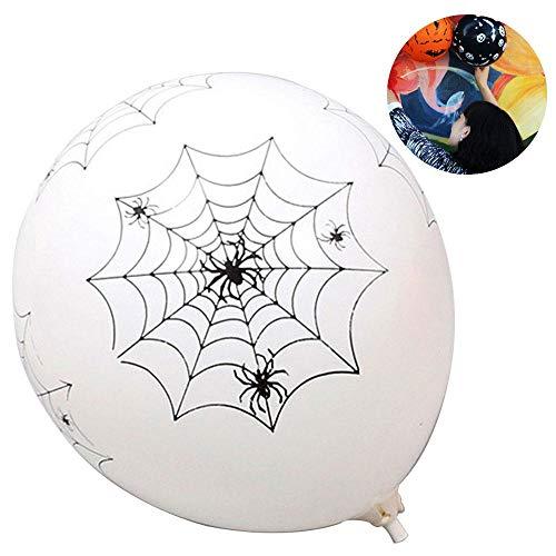 Aolvo Latex-Luftballons für Halloween-Partys, 30,5 cm, 10 Stück Spider