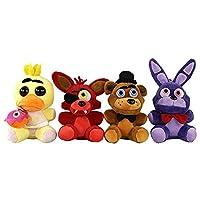 DDG EDMMS 4PCS Cute Animal Plush Toys Five Nights in Freddy