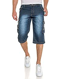 BLZ jeans - Pantacourt bleu délavé
