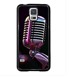Fuson Designer Back Case Cover for Samsung Galaxy S5 :: Samsung Galaxy S5 G900I :: Samsung Galaxy S5 G900A G900F G900I G900M G900T G900W8 G900K (hello mike check singer politician )