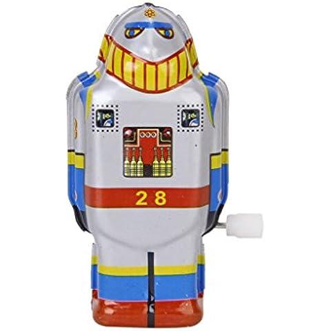 Ms Latta Vento Annata Up Robot Giocattolo 493