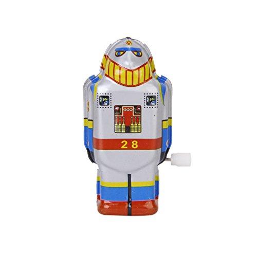 Ms-Viento-Vintage-Estano-Robot-De-Juguete-Hasta-493