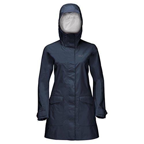 Preisvergleich Produktbild Jack Wolfskin Crosstown Raincoat blau - XXL