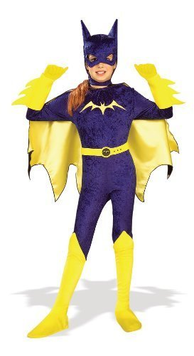 Gotham Girls, Batgirl Costume, Large by Rubies (Gotham Girls Batgirl Kostüm)