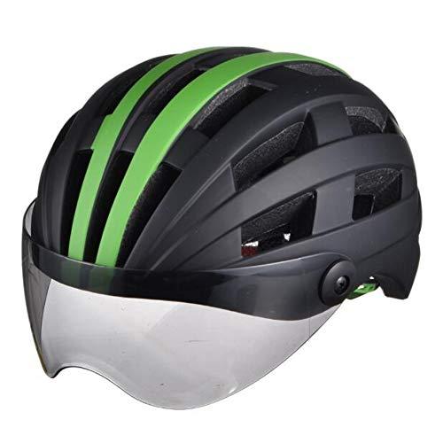 BTAWM Helmets Hot Fahrradhelme Sonnenbrillen Radfahren Brille Objektiv Integral Geformte Männer Frauen Berg Rennrad Helme