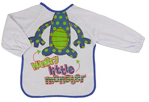 nursery-time-hungry-little-monster-long-sleeved-bib