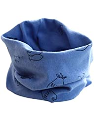 Koly® Invierno del bebé de la bufanda de cuello; Algodón Pañuelos (Azul1)