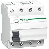 Schneider Electric A9Z05440 Interruptor Diferencial, 4P, 40A, 30Ma, Clase Ac