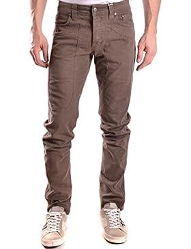 Jeckerson Hombre MCBI162020O Marrón Algodon Jeans