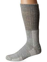 Men's - Women's Trekking Thermal Wool Blend Thick Padded Crew Socks