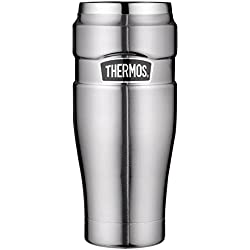 Thermos 4002.205.047 Isoliertrinkbecher Stainless King, 0,47 L, edelstahl mattiert