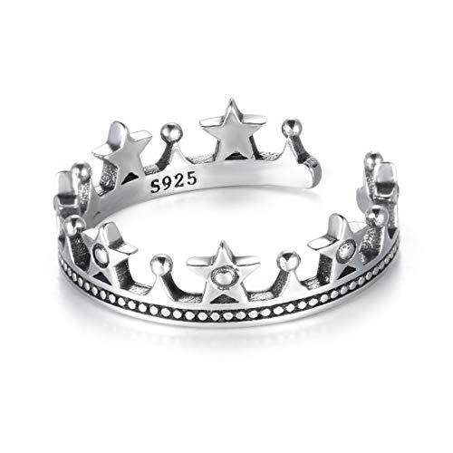 er Prinzessin Viktorianischer Tiara Iris Star Ring Krone Hochzeit Brautschmuck ()