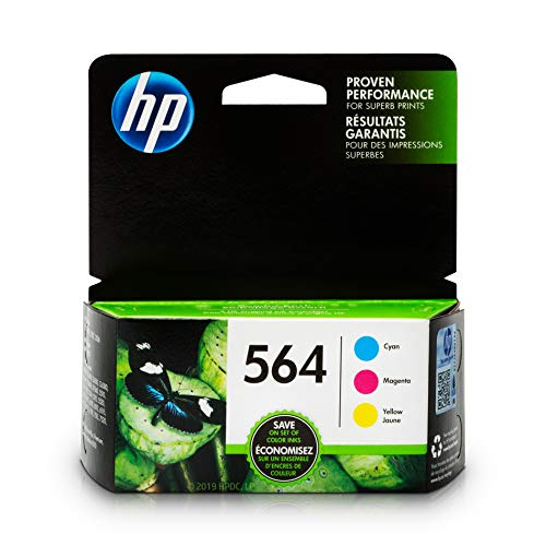 HP 564cyan, magenta & Gelb Original Tintenpatronen, 3/Pack Combo (n9h57fn)