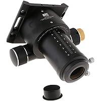 perfk Enfoque DualSpeed de 2 Pulgadas y 50.8mm con Placa Base para Telescopio de Reflectores con Anillo Giratorio de 360 Grados