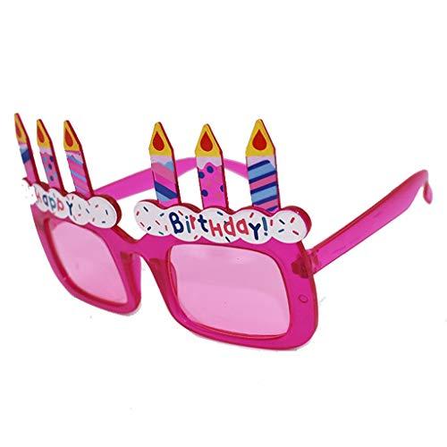 Reparatur Mann Kostüm - YEZIJIN Lustige Verkleidung Brille Neuheit Kostüm Party Sonnenbrille Zubehör Free Size a