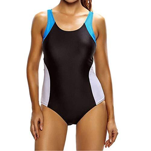 BAIJJ Badebekleidung Frauen Sport One Piece Schwimmen Kostüme, Surf Badeanzüge Badebekleidung Frauen Mädchen Competitive Bademode (Cup Größe Schwimmen Kostüm)