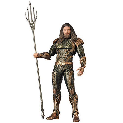 Medicom Justice League Movie MAF EX Action Figure Aquaman 16 cm Comics Figures 11