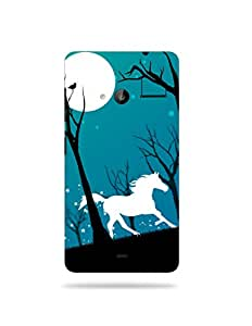 allluna® Premium Quality Printed Mobile Back Cover For Nokia Lumia 535 / Nokia Lumia 535 Printed Cover