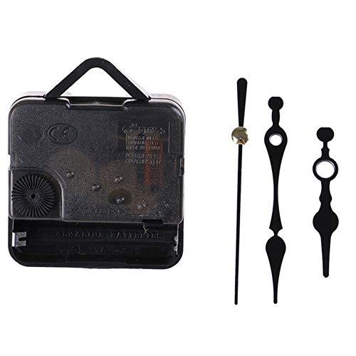 aifengxiandonglingbaihuo DIY Uhrmechanismus Teile Classic Hanging Black Quartz Uhr Wanduhrwerk Quarz Reparaturwerk mit Uhrennadeln, I.