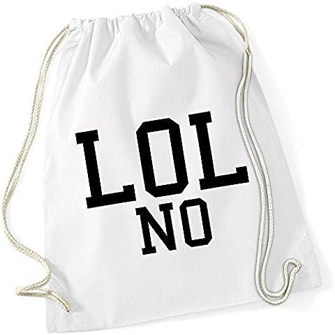 Lol No Bolsa De Gym Blanco Certified Freak