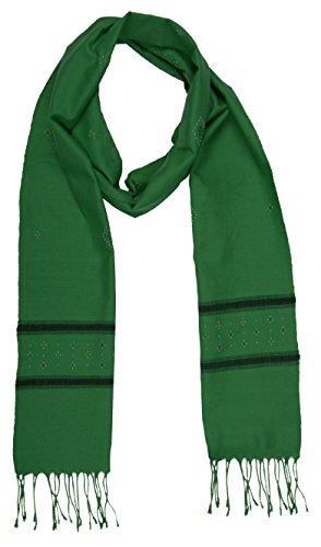 SAATH LIVLIEHOODS Women's Cotton Stole (Green)