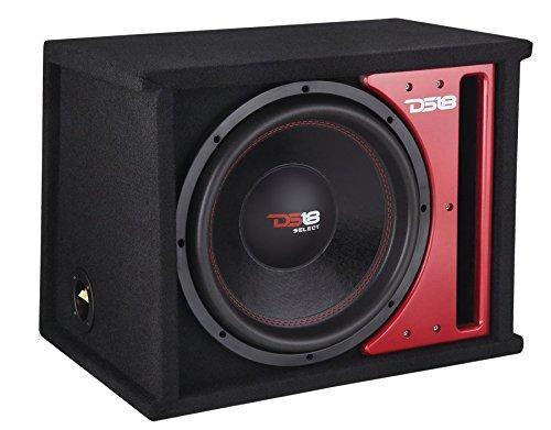 DS18500W 12Zoll 4Ohm Auto Audio Single Sub in belüftet Bassreflexgehäuse