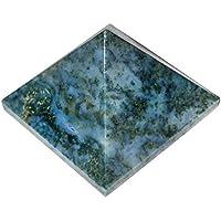Crocon Moos Achat Pyramide Edelstein Energie Generator für Reiki Healing Chakra Balancing Aura Cleansing & EMF... preisvergleich bei billige-tabletten.eu