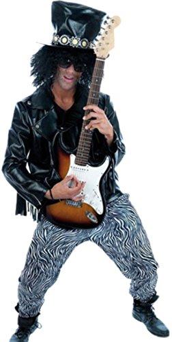 erdbeerloft-Herren-Rock-Guitar-Hero-Kostm-Karneval-Fasching-S-Schwarz
