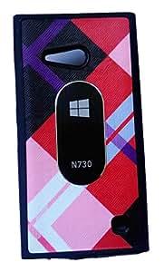 Premium Soft Back Cover For Nokia Lumia 730 Dual SIM Design 2