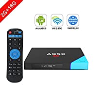 A2 Latest Bluetooth Smart Android 6.0 TV Box by Antsir 4K Super HD Amlogic S912 2GB RAM DDR 16GB ROM eMMC With Led Display Media Player Wifi HDMI for Home Theater