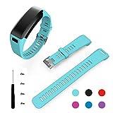 Garmin Vivosmart HR Bracelet, BeneStellar remplacement bracelets pour accessories de Garmin Vivosmart HR (Teal)