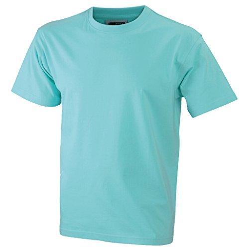 JAMES & NICHOLSON Komfort-T-Shirt aus Single-Jersey Mint